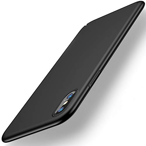 ANOLE Compatible Apple iPhone Xs Max Case, Ultra Thin Hard Matte Finish Coating