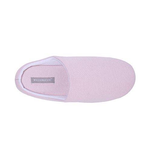 piso zapatillas Rosa amp;KATE verano mujeres en antideslizante zapatilla Estilo Streak para Casual japonés las interior WILLIAM de Odna1RFWW