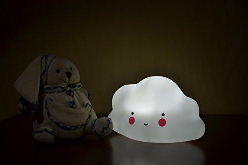 LED Baby Night Light Cloud Cute Baby Nursery Lamp