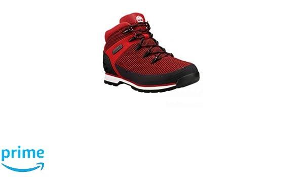 394ca4e971b Timberland Men's Euro Sprint Medium Red Hiker Boots Size 9 A1PPTHAUTEREDSZ9