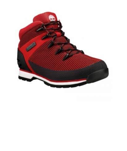 Timberland Mens Euro Sprint Medium Red Hiker Boots Size 7 A1PPTHAUTEREDSZ7