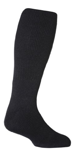 Heat Holders Mens Original Extra Long Thermal Socks Size 7-12 US Navy Blue