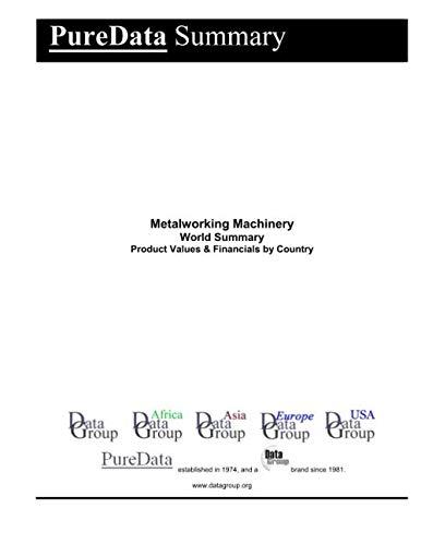 Metalworking Machinery World Summary: Product Values & Financials by Country (PureData World Summary)