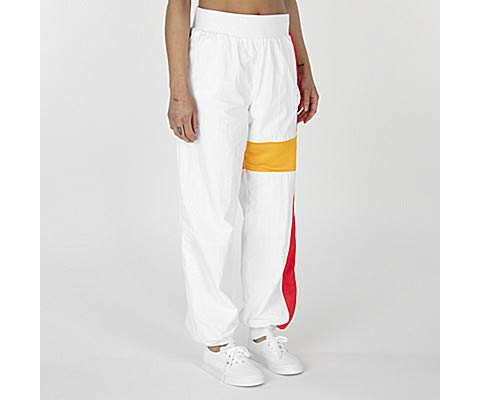 Reebok Special Track Pants, White, Small (Gigi Hadid Collection)