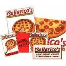 Bellarico New York Style Sub Express Pizza Bag - 1000 per case.