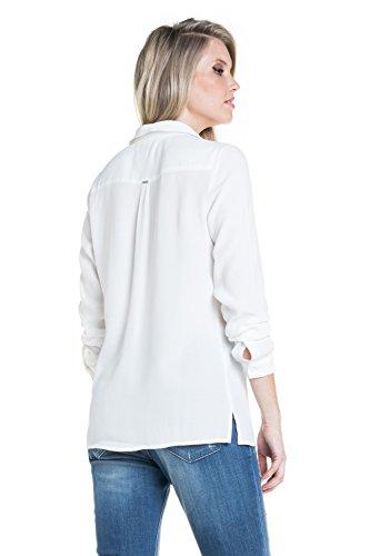 Salsa - T-shirt uni avec des faux poches - Femme