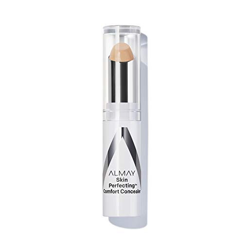 Almay Skin Perfecting Comfort Concealer, Hypoallergenic, Cruelty Free, Fragrance Free, Dermatologist Tested, Light/Medium
