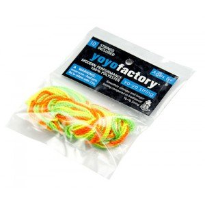 YoYoFactory 100% Polyester String 10 Pack (Assorted Colors)