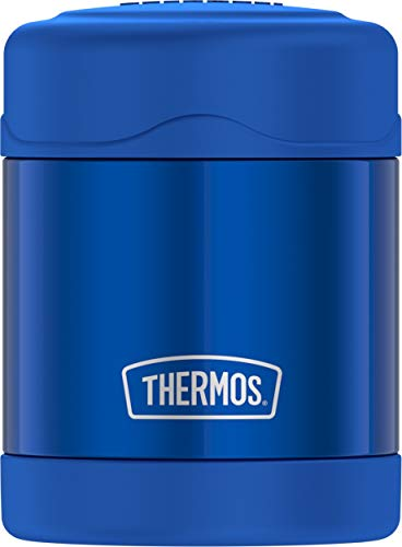 Thermos Funtainer 10 Ounce Food Jar, Blue - Insulated Lunch Jar
