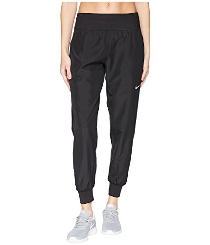Dri Fit Running Pant - NIKE Dri-FIT Women's Dry Essential Cool Sweatpants Running (Black, M)