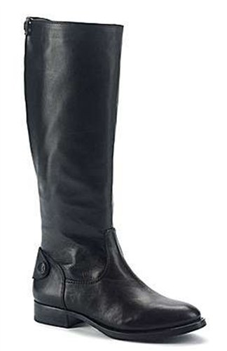 Arturo Chiang Women's Fierce Black Leather Boots - M - 6.5 6.5 M