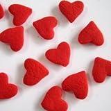 デコレーションシュガー★BIG*ハート<1.2cm>★バレンタイン★decora-shop お菓子道具の専門店【sp852】