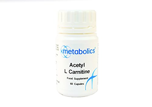 acetyl l carnitine pot of 60 capsules by Metabolics by Metabolics