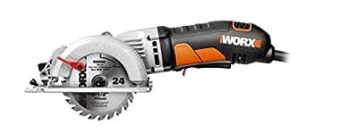 "WORX WX429L Worxsaw Compact Circular Saw, 4-1/2"""