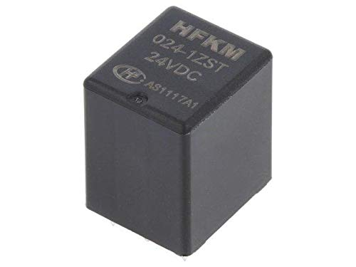 HFKM//024-1ZST Relay electromagnetic SPDT Ucoil24VDC 20A automotive HONGFA RELAY