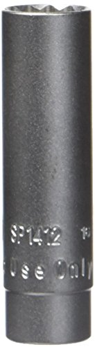 3/8' Drive Spark Plug Socket (Assenmacher Specialty Tools SP1412 14mm, 12-Point Thin Walled Spark Plug Socket)