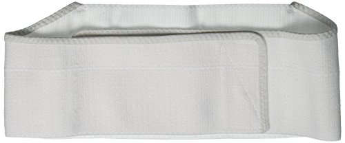 "Rib Belt 2 Pnl 6"" Female Wht Univ"
