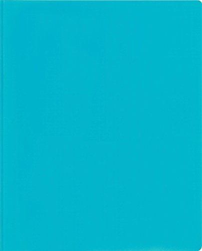 (Lion 2-Pocket Plastic Folder with Fasteners, 1 Folder, Light Blue (92310-LB))