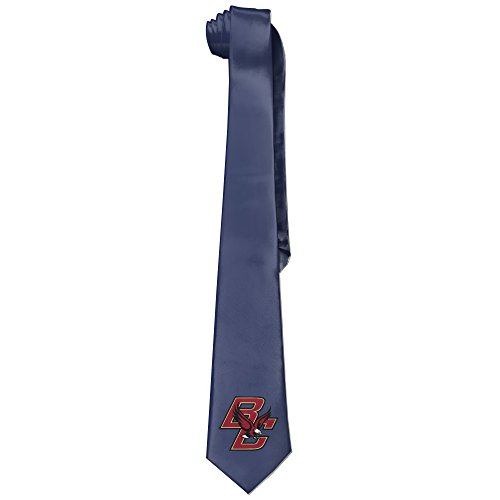 Ggift Boston College Eagles Mens Fashion Business Solid Necktie Neck Tie