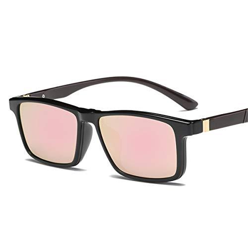 Hombres C Recubrimiento E de conducción Conducción Sol KOMNY de Gafas de Negro Oculos Pesca Gafas polarizadas Gafas clásicas Marco Masculinas Sol Gafas 0xaaXS1nq