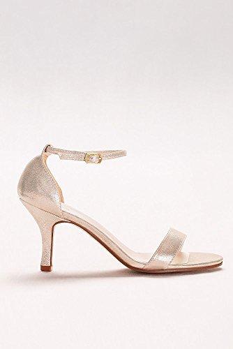 Sandalo Single Strap Stile Nayomi Argento Metallizzato