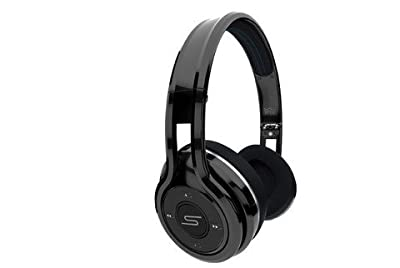 SMS Audio SMS-BTWS-SPRT-BLK Sync by 50 Wireless On-Ear Sport Headphones