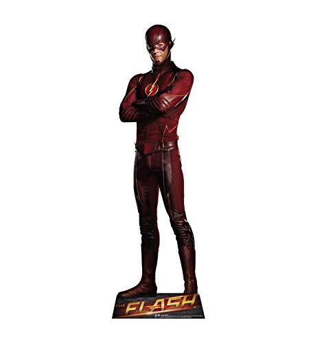 Advanced Graphics Flash Life Size Cardboard Cutout Standup - The CW's The Flash]()