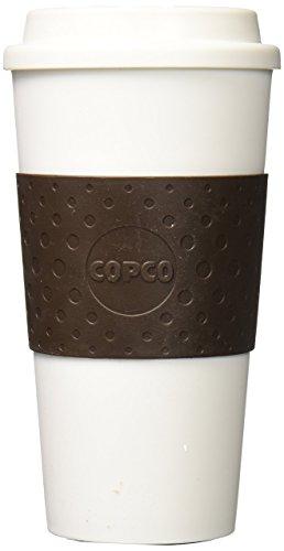 Beverage Copco Cold (Copco Acadia Travel Mug, 16-Ounce, Brown)