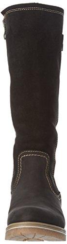 001 26605 Long Boots Black Tamaris Black Women's nYSwEv5qT