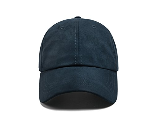 ZOWYA Classic Faux Suede Baseball Cap Dad Hat for Men & Women Unisex Adjustable Size 10+ Trendy Colors Available