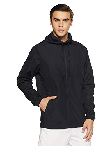 Under Armour Mens Sportstyle Woven Full Zip Hoodie
