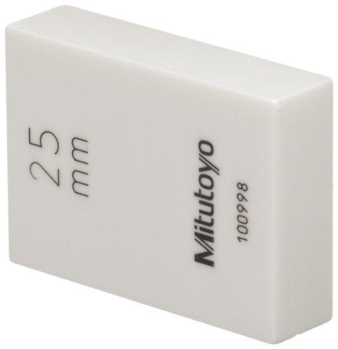 ASME Grade K Mitutoyo 611237-516 Steel Rectangular Gage Block 0.0207 Length 0.0207 Length