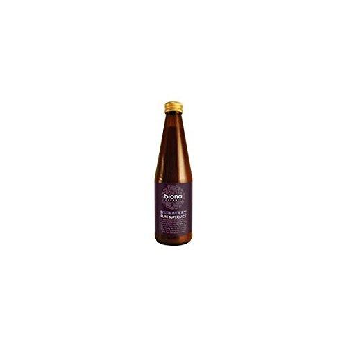 BIONA Organic Blueberry 100% Pure Juice 330ml (2 Pack)