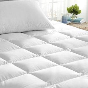 Cannon Waterproof Zippered HypoAllergenic 12' Deep Mattress Pad Topper & Protector Twin - Dustmite and Bedbug Proof from CANNON