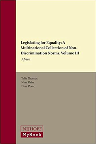 'IBOOK' Legislating For Equality: A Multinational Collection Of Non-Discrimination Norms. Volume III: Africa. jurista Single Welcome produces private