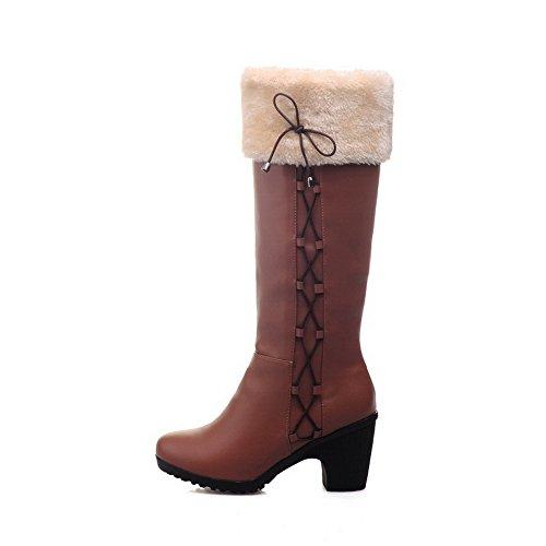 1TO9 Botas de Nieve Mujer marrón