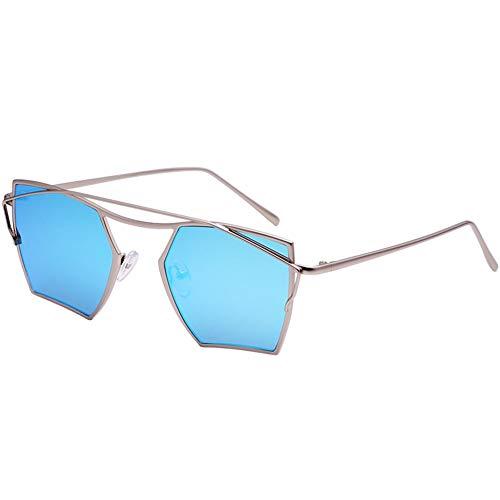 unisexe bleues soleil lunettes soleil personnalité de Lunettes de NIFG w8qT6FIq