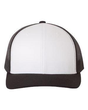 Flexfit/Yupoong 6606,6606T Retro Trucker Hat (Black)