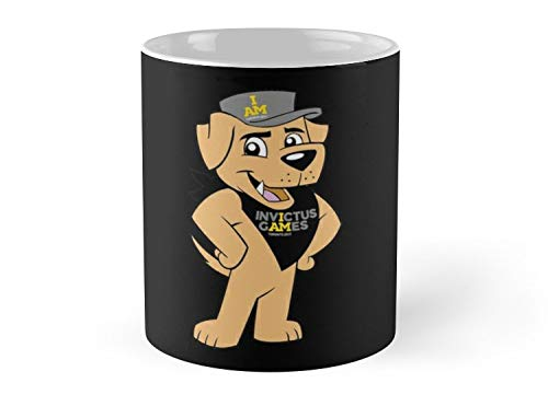 Army Mug VIMY the Official Mascot, Invictus Games 2017-11oz Mug - Features wraparound prints - Dishwasher safe - Made from Ceramic - Best gift for family friends]()
