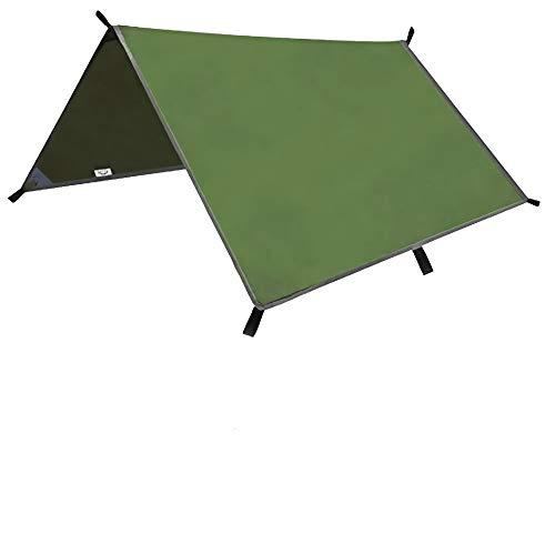 Hands DIY 3 m x 3 m Tent Tarp Hangmat Regen Vlieg Sneeuwdicht Camping Onderdak Tarpaulin voor Outdoor Camping Wandelen…