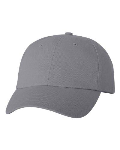 valucap-adult-bio-washed-unstructured-cap-vc300a-adjustable-grey