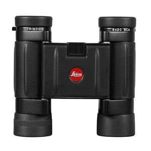 Leica 8x20 BCA Trinovid, Weather Resistant Roof Prism Binocular with 6.6 Degree Angle of View, with Cordura Case, Black, USA