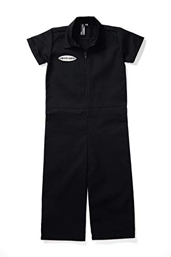 Born to Love Knuckleheads - Infant and Baby Boy Grease Monkey Coveralls Black 18-24 Months ()