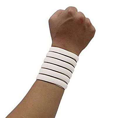 Colors Outdoor Sports Wrist Brace Wrap Support Gym Strap Elastic Wristband Bandage Estimated Price £8.19 -