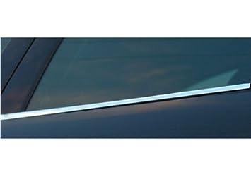 Molduras ventanas cromadas inferiores fabricado en acero: Amazon.es: Coche y moto