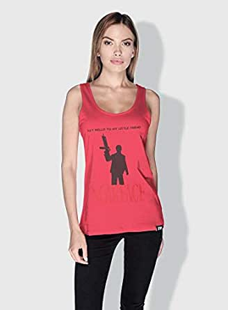 Creo Scarface Movie Posters Tanks Tops For Women - S, Pink