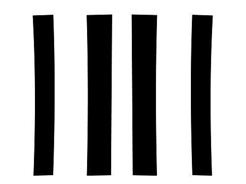 Rvinyl Rtrim Pillar Post Decal Trim for Cadillac Escalade 2007-2013 - Leather (Black)
