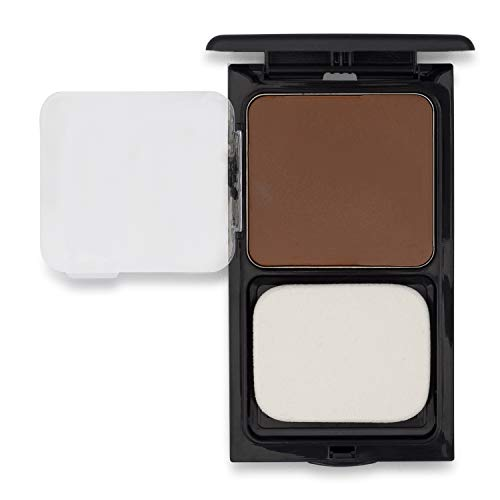 Cream to Powder Foundation Compact by Sacha Cosmetics, Best Natural Matte Makeup to give Flawless Looking Skin, Medium to Full Coverage, Normal to Oily Skin, 0.45 oz, Perfect Copper (Copper Powder Foundation)