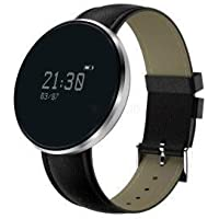 OPTA RSB-045 O-MI Band Bluetooth Smartwatch Blood Pressure Heart Rate Smart Band Compatible with Android/iOS Smart Phones for Unisex(Black)
