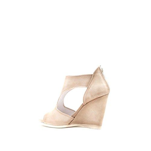 CAFèNOIR Sandal - Sandalias de vestir de piel para mujer E15.094 BEIGE